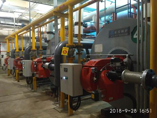 河北石家庄某供热公司——锅炉低氮燃烧器改造