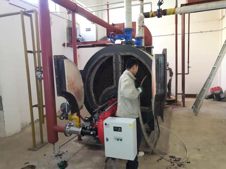 乐普药业-锅炉维修保养案例